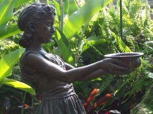 Statue in the Belle Isle Conservatory